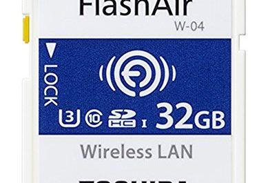 TARJETA TOSHIBA FLASHAIR W-04